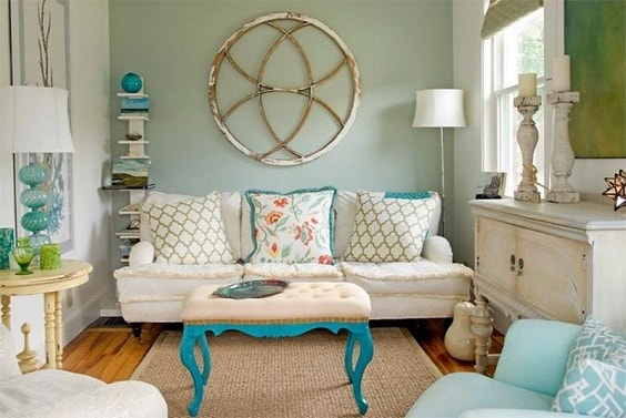 shabby chic living room 23-min