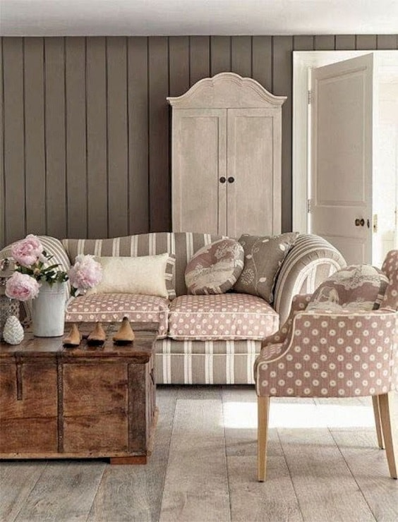 shabby chic living room 24-min