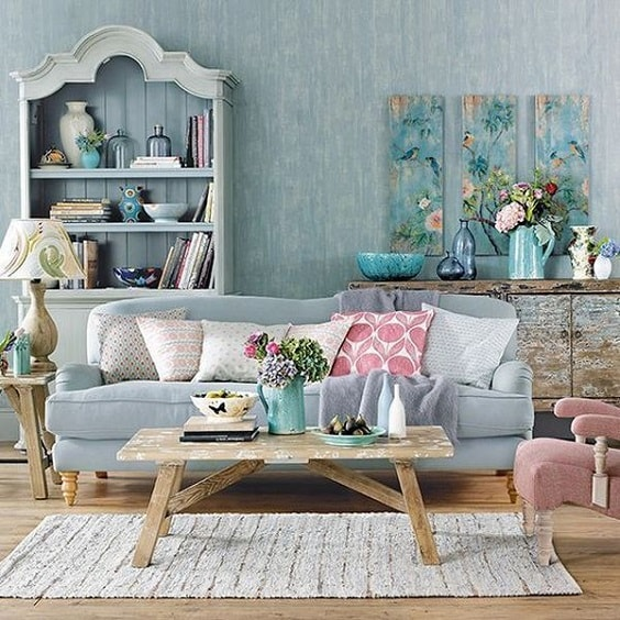 shabby chic living room 27-min