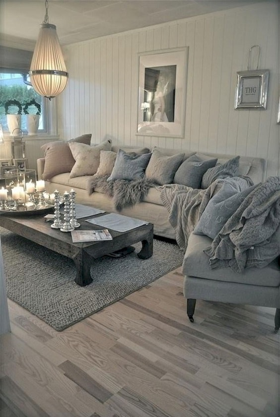 shabby chic living room 6-min