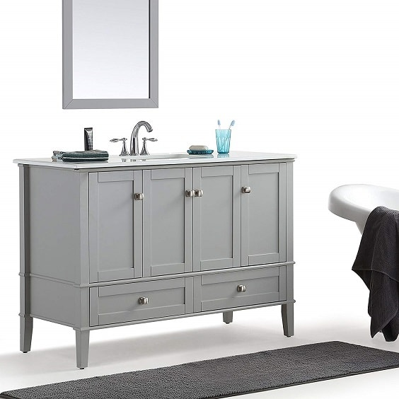 48 Inch Bathroom Vanity With Top And Sink 10-min
