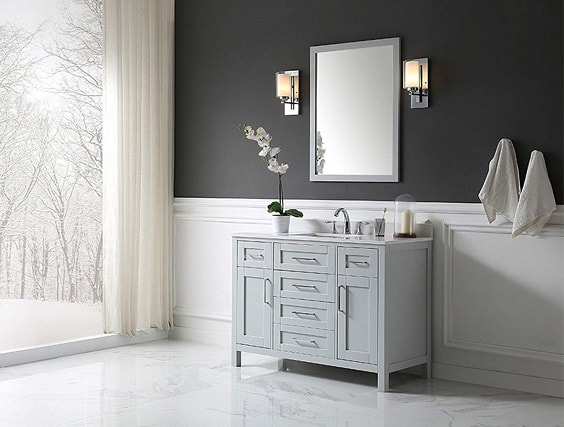 48 Inch Bathroom Vanity With Top And Sink 5-min
