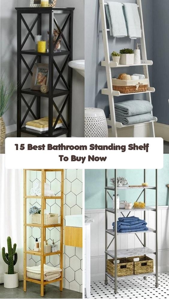 Bathroom Standing Shelf-min