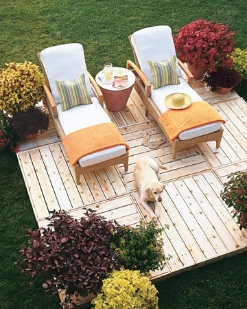 DIY Pallet Patio Terrace 21-min