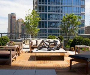 DIY Pallet Patio Terrace 3-min
