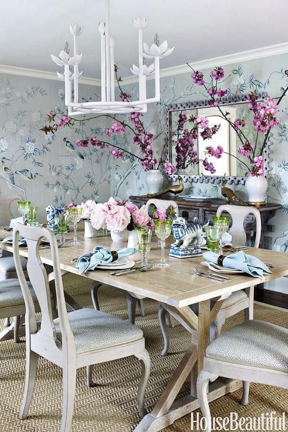 30 Distinctively Beautiful Dining Room Decorating Ideas | Home Improvement