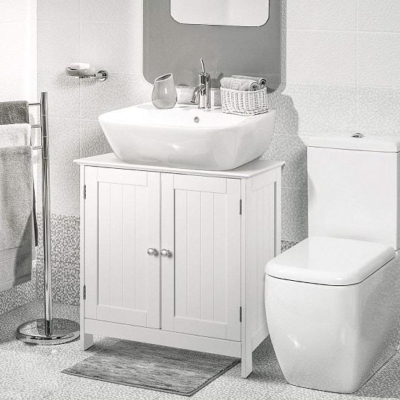 Farmhouse Style Bathroom Vanity 3-min