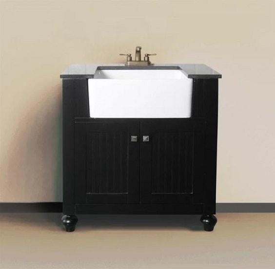 Farmhouse Style Bathroom Vanity 4-min