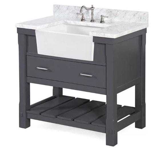 Farmhouse Style Bathroom Vanity 6-min