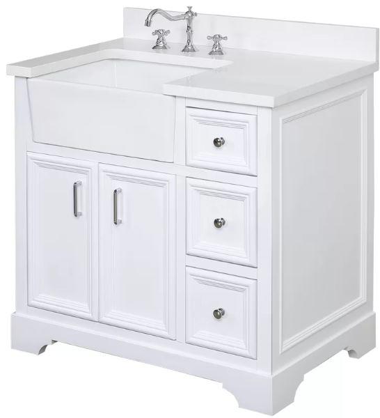 Farmhouse Style Bathroom Vanity 8-min