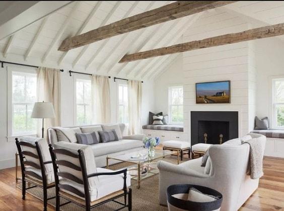 Modern Farmhouse Living Room 10-min