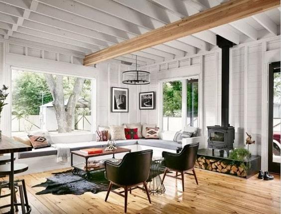 Modern Farmhouse Living Room 14-min