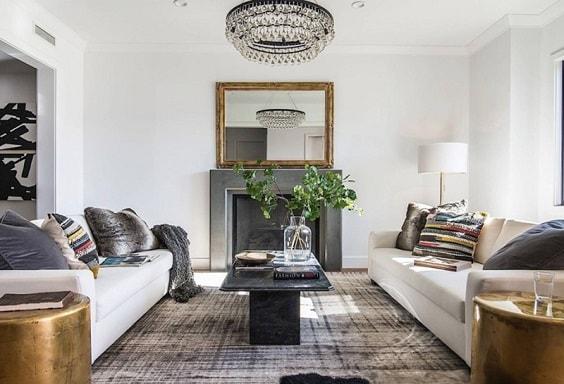 Modern Farmhouse Living Room 18-min