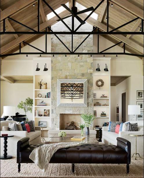 Modern Farmhouse Living Room 20-min