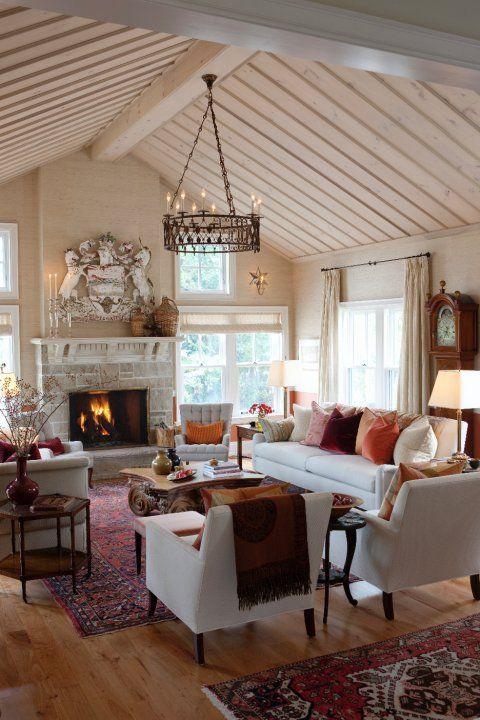 Modern Farmhouse Living Room 25-min