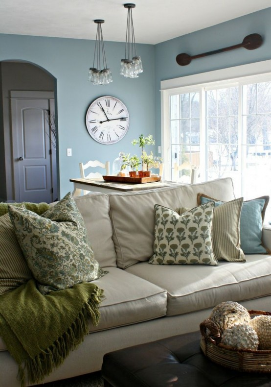 Modern Farmhouse Living Room 27-min