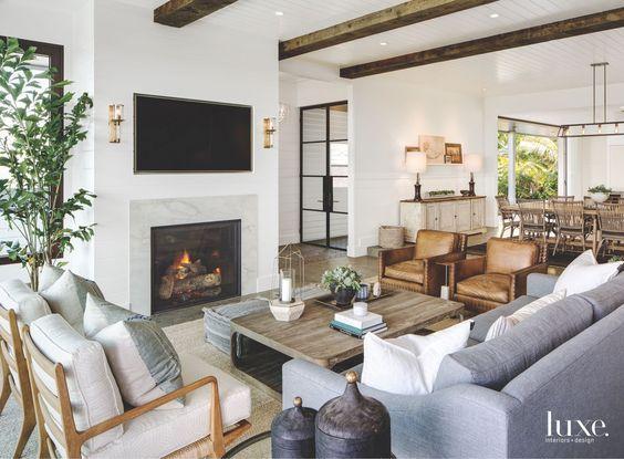 Modern Farmhouse Living Room 3-min