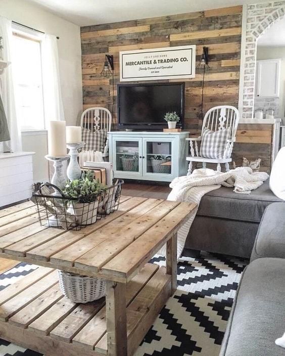 Modern Farmhouse Living Room 5-min