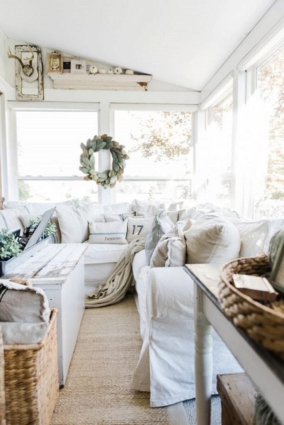 Modern Farmhouse Living Room 8-min