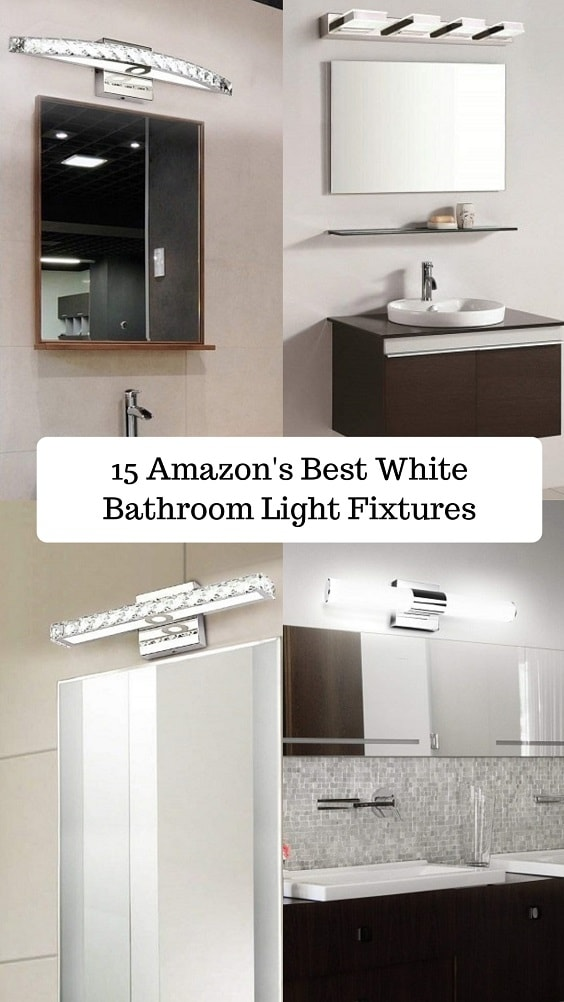 White Bathroom Light Fixtures-min