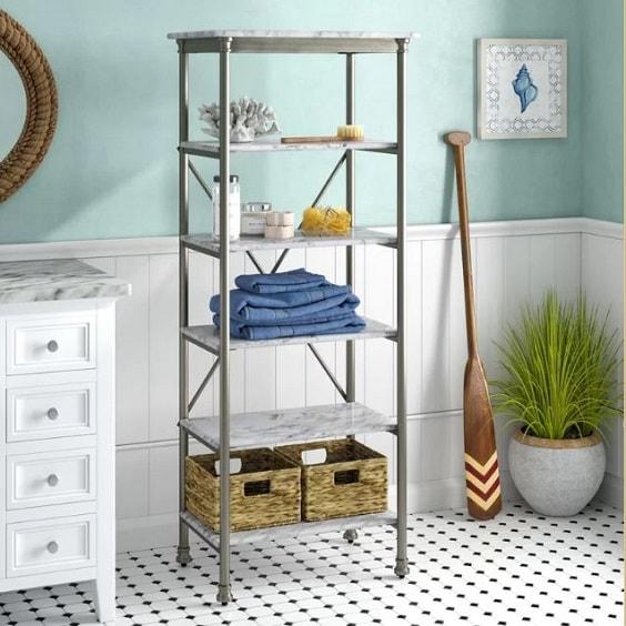 bathroom standing shelf 10-min