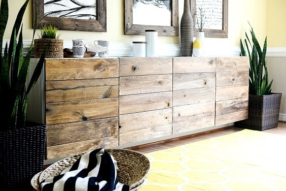 15 DIY Dining Room Buffet Plans with Complete Tutorial   Easy Project