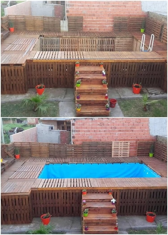 pallet swimming pool 18-min