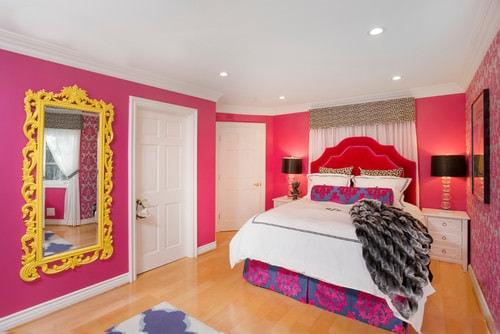 pink girl bedroom 17-min