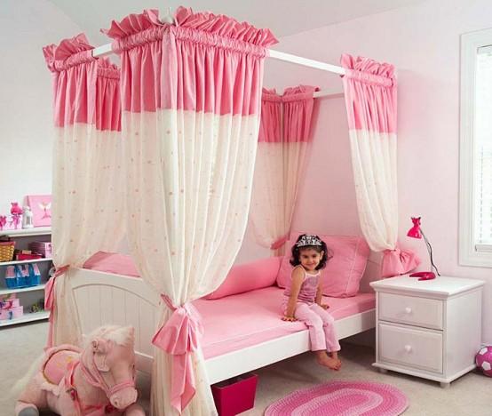 pink girl bedroom 4-min