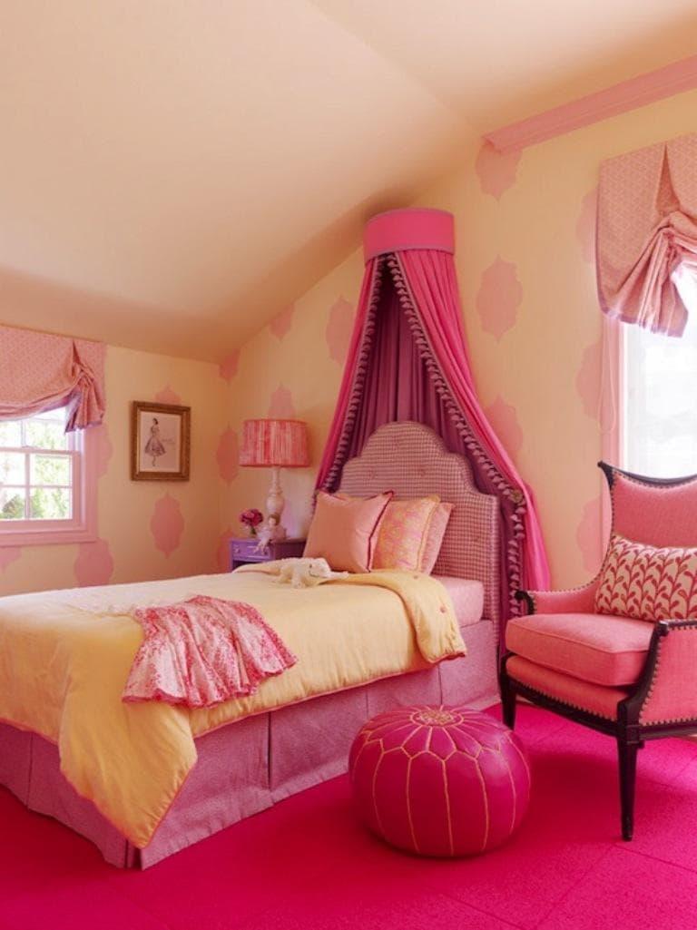 pink girl bedroom 7-min
