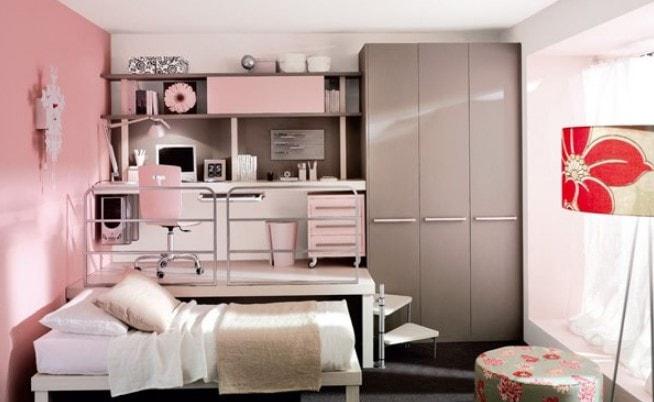 pink girl bedroom 9-min