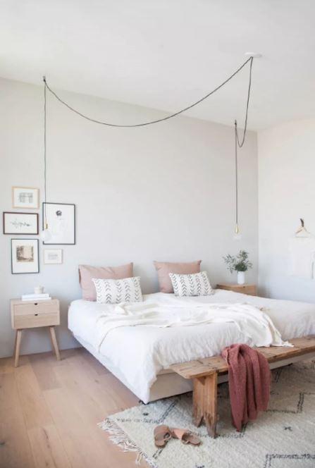 scandinavian bedroom decoration 1-min