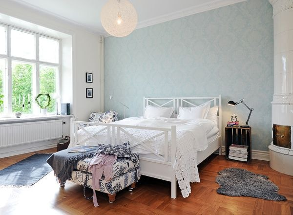 scandinavian bedroom decoration 3-min