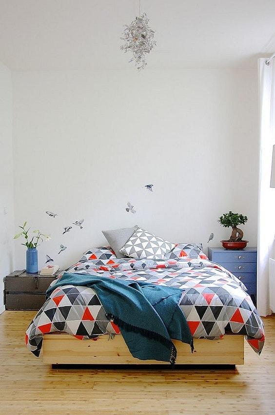 scandinavian bedroom decoration 8-min
