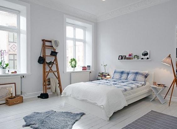 scandinavian bedroom decoration 9-min