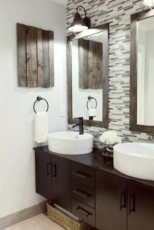 Gray And Brown Bathroom 16-min