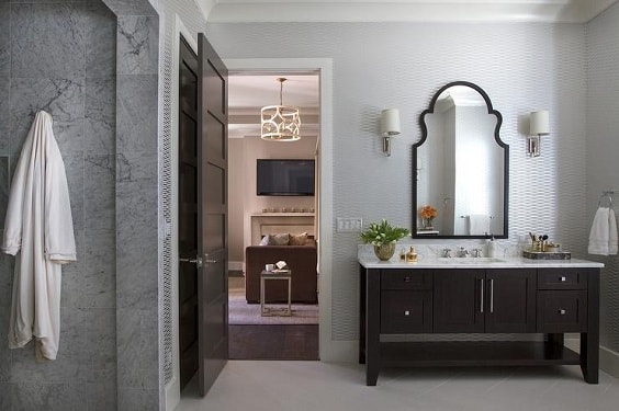 Gray And Brown Bathroom 18-min