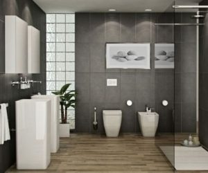 Gray And Brown Bathroom 21-min