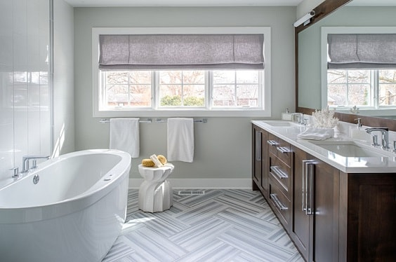 Gray And Brown Bathroom 22-min