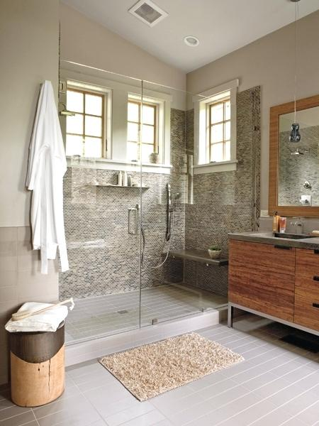 Gray And Brown Bathroom 4-min