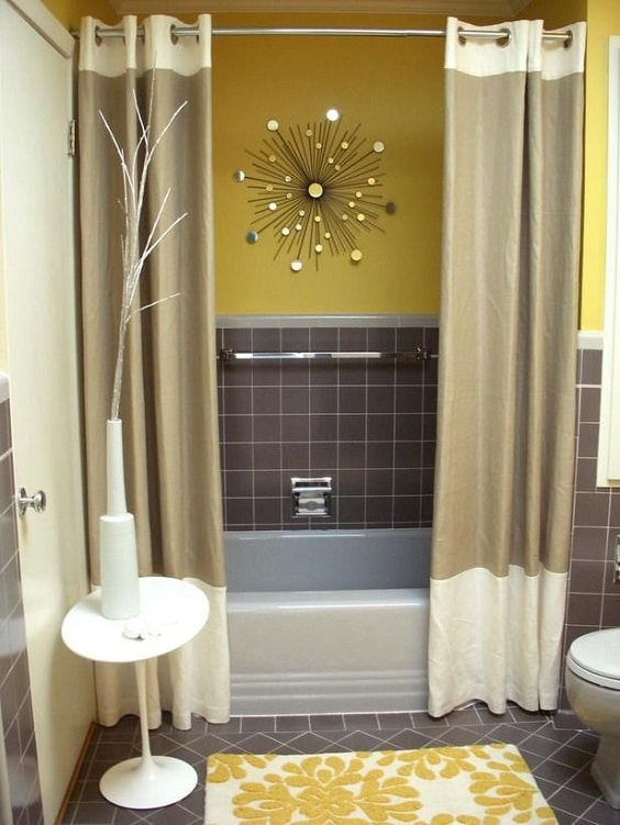 Gray And Brown Bathroom 8-min