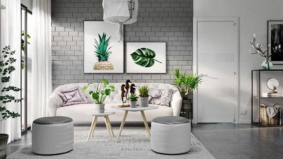 Grey Living Room 6-min