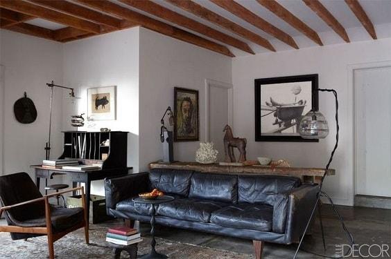 Mid Century Modern Living Room 10-min