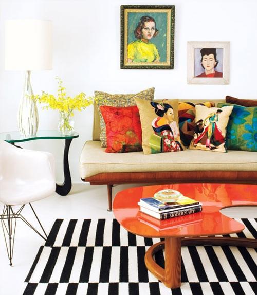 Mid Century Modern Living Room 12-min
