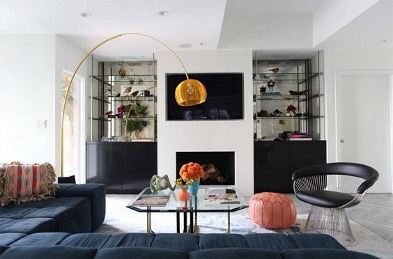 Mid Century Modern Living Room 13-min