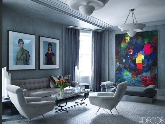 Mid Century Modern Living Room 14-min