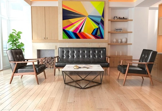 Mid Century Modern Living Room 15-min