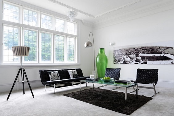 Mid Century Modern Living Room 17-min