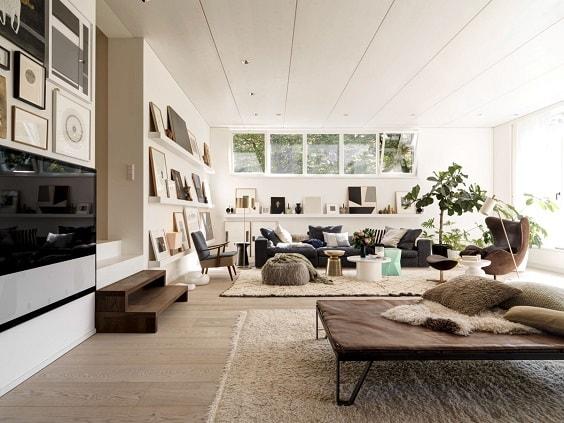 Mid Century Modern Living Room 19-min