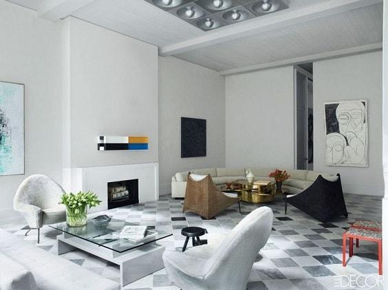 Mid Century Modern Living Room 2-min